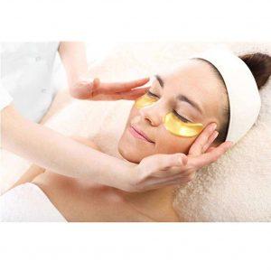 Masque en Or 24 Carats et au Collagène - Les meilleur Patchs pour les yeux - Malakaya.com