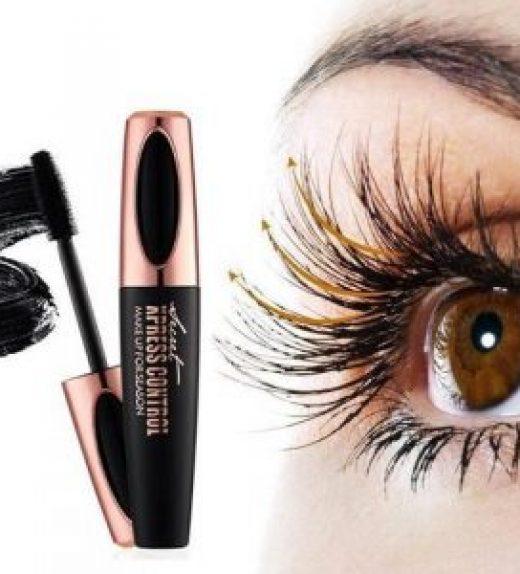 Mascara Pour Cils En Fibre De Soie 4D