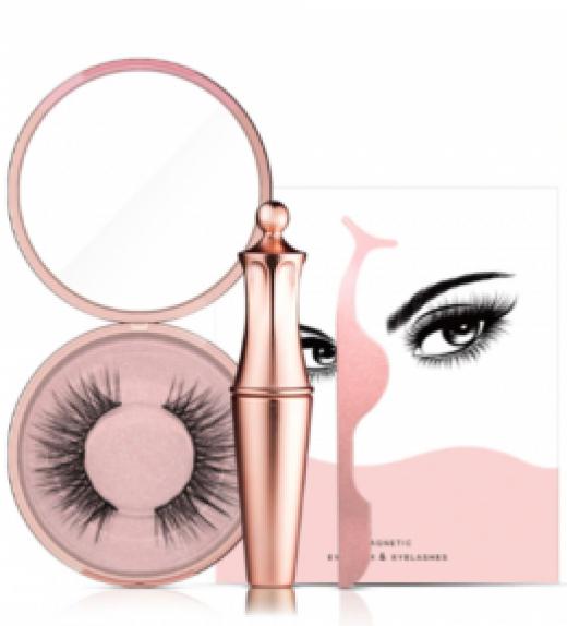 Le meilleur Kit Eyeliner & Cils Magnétiques -MALAKAYA