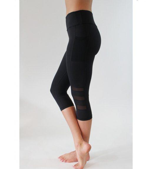 Legging de Sport court avec poche -Malakaya.com