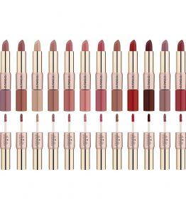 Rouge à Lèvres Mat et Brillant 2 en 1