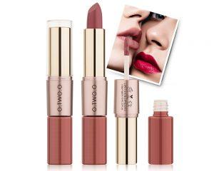 Rouge à Lèvres Mat et Brillant 2 en 1 - Malakaya.com