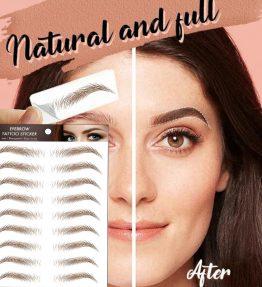 Tatouages Pour Sourcils Effet 4D Naturel