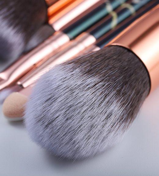 Kit de pinceaux pour maquillage (15 Pièces)