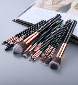 Set De 15 Pinceaux de Maquillage