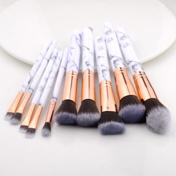 Kit de pinceaux pour maquillage -15 Pièces