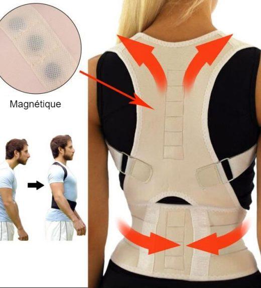 Correcteur De Posture Magnétique ESSENTIEL - malakaya.com