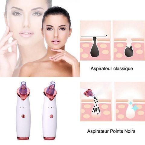 BeautyFace™ Aspirateur Points Noirs - Nettoyage de pores