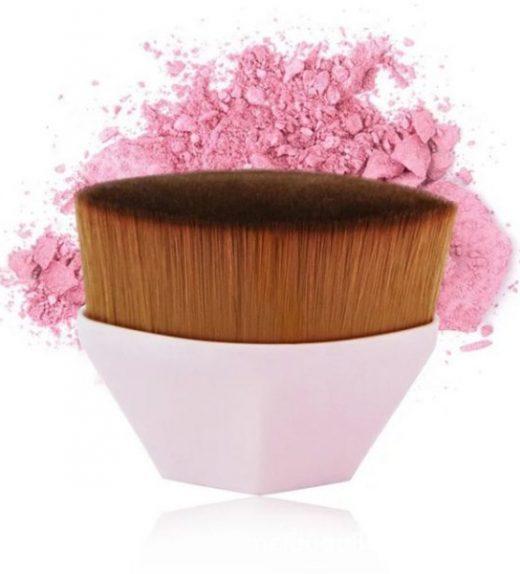 Pinceau de Maquillage à Poils Ultra Fins-ROSE